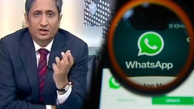 Photo of Ravish's report on Israeli spyware used to target Indians