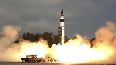 Photo of India test fires nuclear-capable Prithvi-II missile