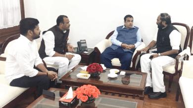Photo of Telangana Congress MPs meet Gadkari over RTC issue