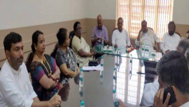 Photo of Congress leaders meet over Karnataka by-polls