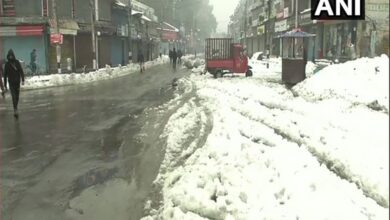 Photo of Srinagar receives snowfall