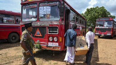 Photo of Sri Lanka: Gunmen fire on buses carrying Muslim voters
