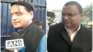 Photo of Tharoor, Karti visit Tihar Jail to meet Chidambaram