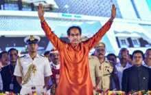 Fact check: Did cops distribute Tasbeehs after Uddhav took oath?