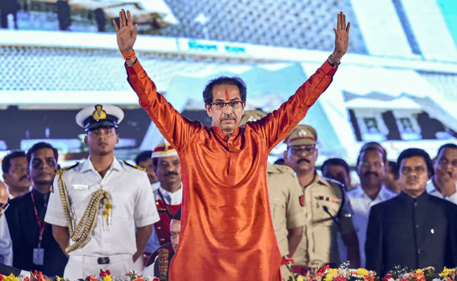 FACT CHECK: Did Cops distribute Tasbeeh's after Uddhav took Oath