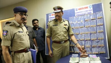 Photo of Two held for trying to sell fake gold and copper in Hyderabad