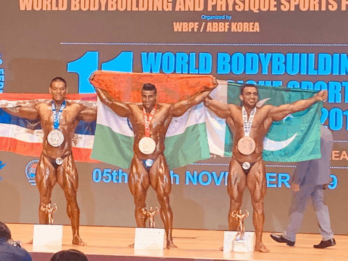 Indian Army man bags Gold in World Bodybuilding championship
