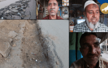 Hyderabad: People faces untold misery due to dug-up roads