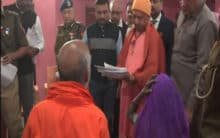 UP: Adityanath holds Janta Darbar, addresses people's grievances