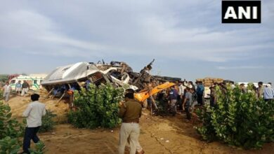 Photo of Rajasthan: 10 killed as bus, truck collide in Bikaner