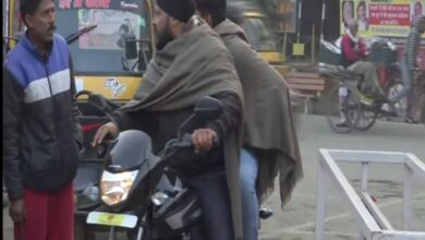 Photo of Temperature dips across North India, cold waves intensify