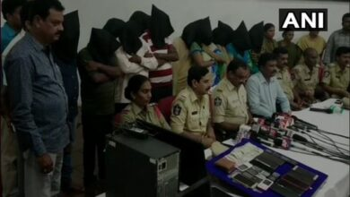 Photo of Andhra Pradesh: Prostitution racket busted in Nellore; 13 held