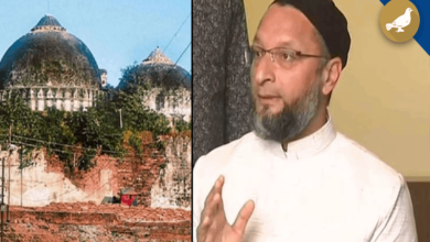 Photo of Owaisi trying to disrupt the unity of the Country: BJP