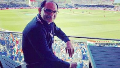 'Azharuddin Stand' in Rajiv Gandhi Stadium