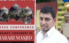 Police foil DJS attempt to hold media meet on Ayodhya verdict