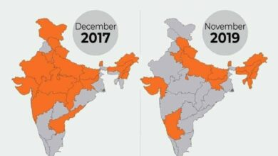 Photo of Is BJP's spread shrinking in country?