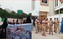 Hyderabad: Tension prevails at Ujale Shah Eidgah