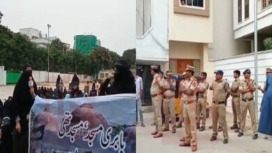 Photo of Hyderabad: Tension prevails at Ujale Shah Eidgah