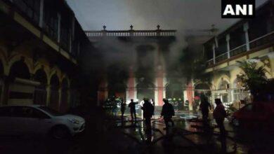 Photo of Maharashtra: Fire breaks out at cloth godown in Mumbai