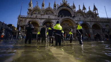 Photo of Italy declares state of emergency in Venice after flood