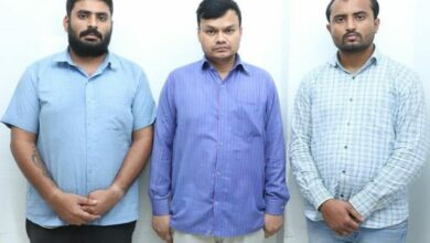 Photo of Hyderabad: 3 nabbed for cheating finance company of 73 lakhs