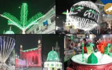 Hyderabad: City decked for Milad-Un-Nabi (PBUH) celebration