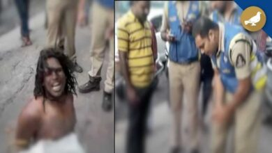 Photo of Psychotic lover creates panic at Banjara Hills, held by police