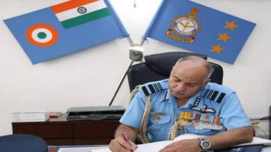 Photo of Air Marshal Raghunath Nambiar retires