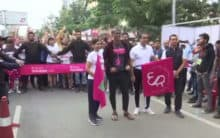 Pinkathon organised in Guwahati in support of women empowerment