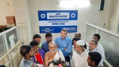 Photo of Chilkur Balaji priest visits masjid