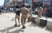 Tension in Shadnagar, Protest & demanding to handover accused