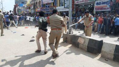 Photo of Tension in Shadnagar, Protest & demanding to handover accused