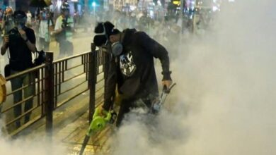 Photo of Hong Kong protests escalate after university student's death