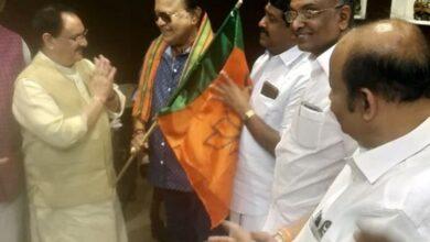 Photo of Chennai : Tamil actor Radha Ravi joins BJP