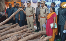Red Sandalwood smuggler held by South Zone Task Force
