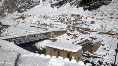 Photo of Himachal: Lahaul-Spiti receives fresh snowfall