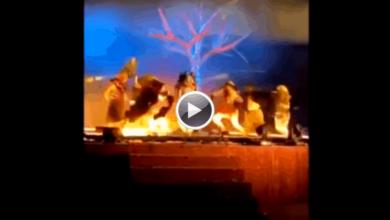 Photo of Saudi Arabia: Three performers stabbed on stage
