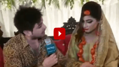 Photo of Bride mocks Pakistan's inflation, wears tomato jewelry