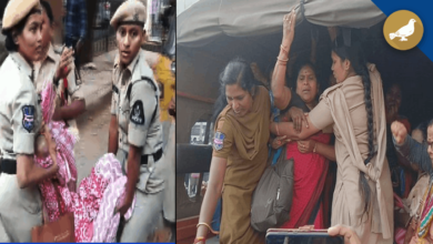 Photo of TSRTC Employees arrested after trying to join duty