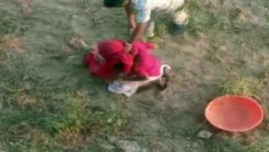 Photo of Woman beaten up in Barmer for grazing cattle in field