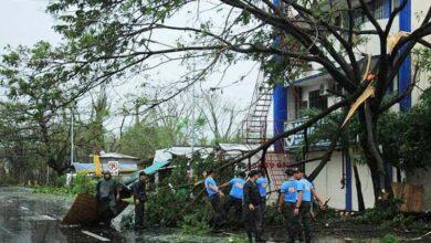 Photo of Typhoon Kammuri pounds Philippines, closes Manila airport