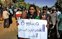 Hundreds march in Sudan capital seeking justice for martyrs