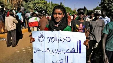 Photo of Hundreds march in Sudan capital seeking justice for martyrs