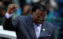 Namibia President Geingob wins second term