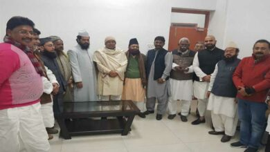 Photo of Nitish Kumar meets minority delegation in Bihar