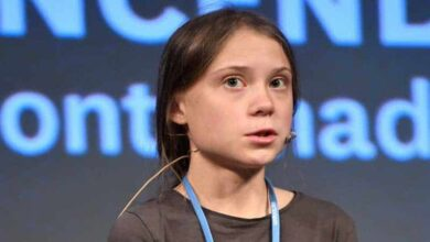 Photo of Thunberg urges climate action because 'people are dying'