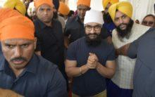 Aamir Khan pays obeisance at Golden Temple