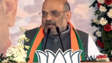 "Photo of ""Sky-high Ram mandir will be built in 4 months"": Amit Shah"