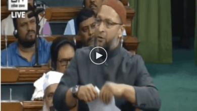 Asaduddin Owaisi tears copy of CAB in Parliament