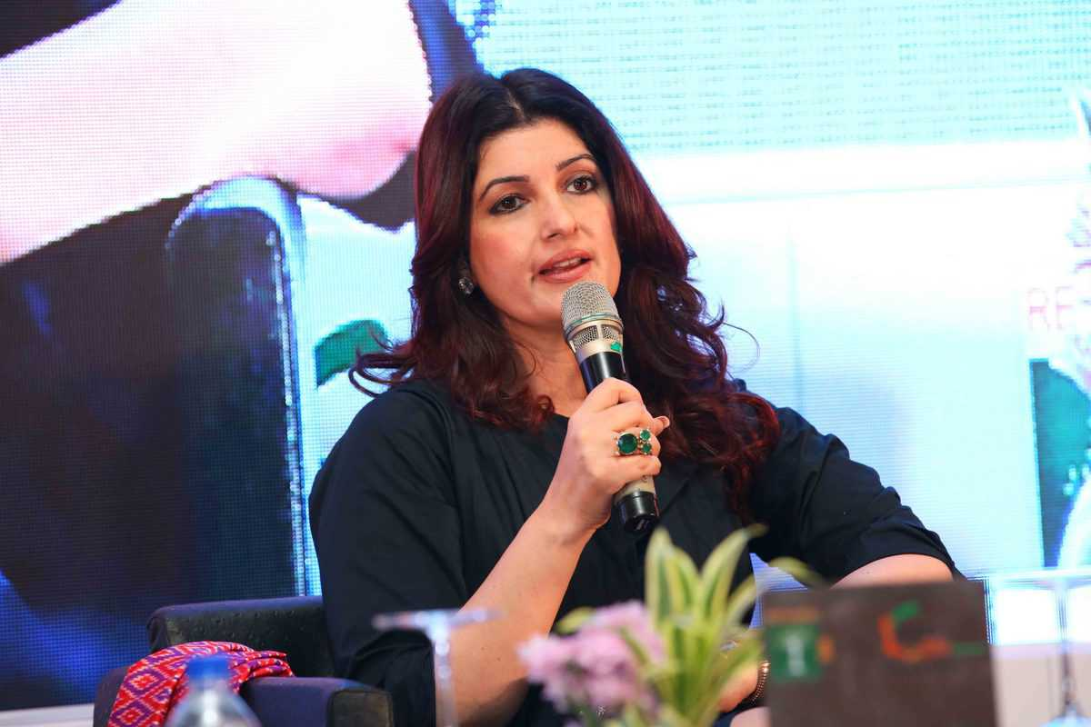 Sons will be care givers in next-generation: Twinkle Khanna